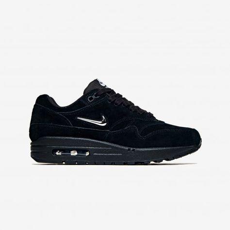 best sneakers d4599 c4957 Nike-AIR MAX 1 PREMIUM SC Wmns-BlackMetallic Silve-1580376