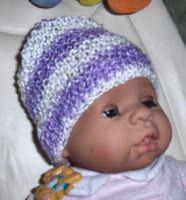 Bevs Period of PURPLE Crying Cap - Cute, cute!