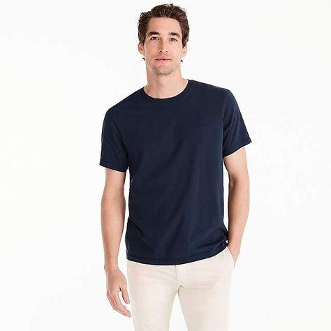 e24b539d J.Crew Tall Mercantile Broken-in crewneck T-shirt