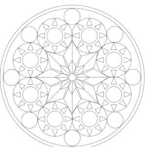 Coloring Mandela تلوين للكبار مطبوعات مجانية Mandala Drawing Decorative Plates Decor Home Decor