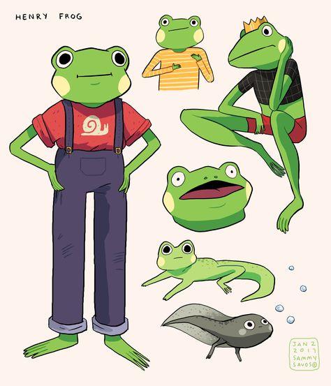 Character Design - Sammy's Portfolio