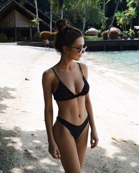 Abs Goals! | #1stInHealth #WomensFashion #FitnessFashion #SwimWear #Bikini #Abs #SixPack