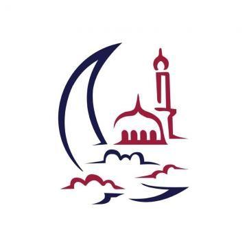 Midnight Crescent Moon Islamic Mosque Symbol Logo Symbol Logo Mosque Logo Design Free Templates