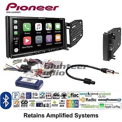 Details About Pioneer Avh 2440nex Ddin Car Stereo Install Kit