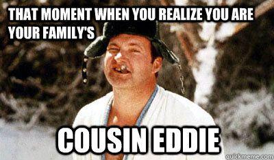 6f42dbcb105444cda9a1656051d6b0fc christmas vacation meme family christmas cousin eddie smile pinterest humor
