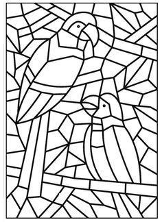 Atividades De Artes Para Sala De Aula Mosaico Desenho De Mosaico
