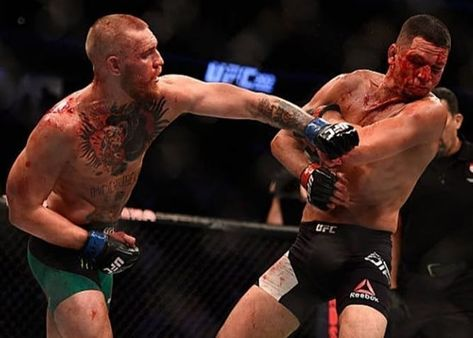 Conor McGregor V Nate Diaz UFC 202 Art Print Photo Picture Poster A3 A4