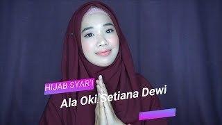 Tutorial Jilbab Pashmina Syari Oki Dengan Gambar Gaya Hijab