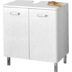 Reduzierte Waschbeckenunterschranke Badunterschranke