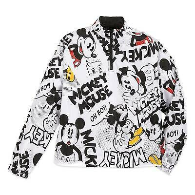 Comics meet comfort in this stylish pullover windbreaker featuring a bold allover print of Mickey. Fully lined with a zip front, this lightweight pullover also features elastic cuffs and side seam pockets. Pullover Windbreaker, Dog Pajamas, Disney Outfits, Disney Fashion, Disney Clothes, Comic Styles, Printed Pants, Disney Girls, Disney Style