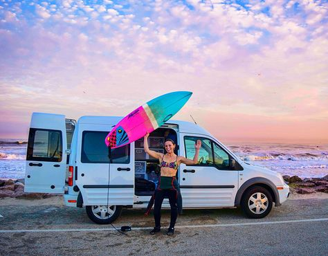 Tiny Van Giant Journey Ford Transit Conversion Ford Transit Ford Transit Camper