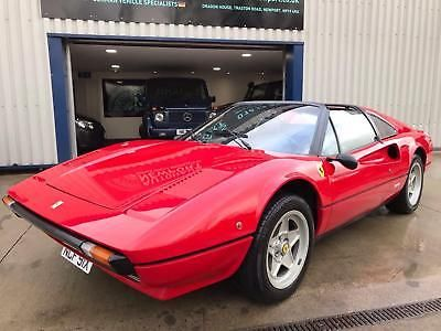 eBay: 1981 X FERRARI 308 GTS ( EUROPEAN CAR NOT US FED SPEC ...