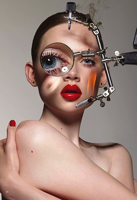 Samantha Gradoville & Holly Rose by Donna Trope for Under The Influence Autumn / Winter #14 [Beauty]