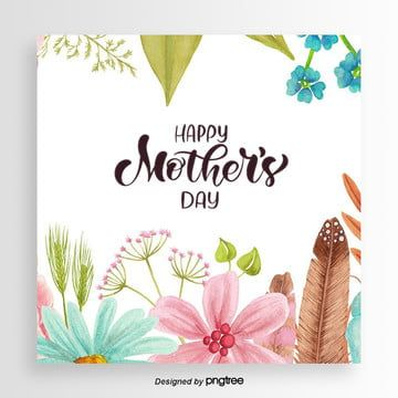 Exquisite Seven Color Display Rack Creative Poster Design Template Mothers Day Card Template Unicorn Birthday Cards Mother S Day Gift Card
