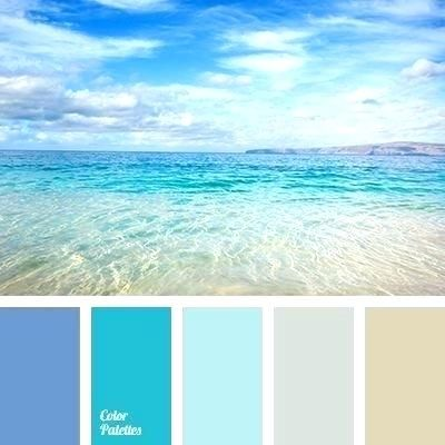 Ocean Colored Paint Light Sky Blue Color Palette Bq House Colors