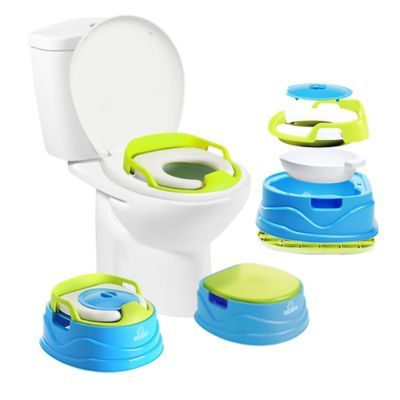 Squat N Go Babyloo Bambino 3 In 1 Potty Trainer In Blue Toilet