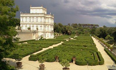 Villa Doria Pamphili Roma Vatikan Italien Parkanlage