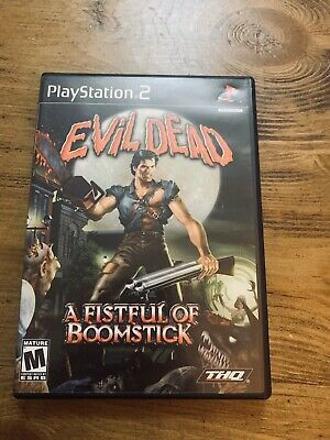 Evil Dead: A Fistful of Boomstick (Sony PlayStation 2, 2003) for sale online   eBay