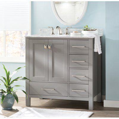 Beachcrest Home Newtown 36 Single Bathroom Vanity Set