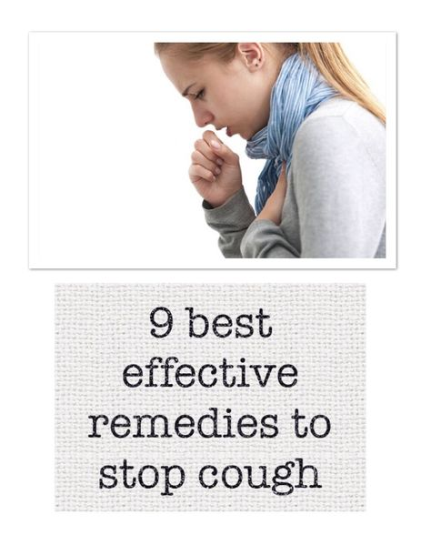 we give you the best natural remedies to stop cough to heal naturally, you and your entire family
