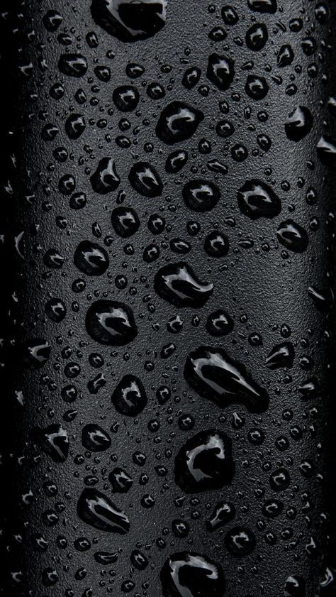 Download Black Water Droplets Wallpaper By Thejanove Now Browse