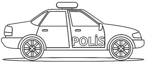 Polis Arabasi Boyama Sayfasi Polis Boyama Sayfalari Ve Ozel Egitim