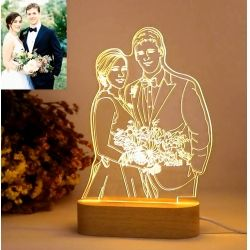 The Best 3d Led Optical Illusion Lamp Store Lámpara Foto Foto 3d Regalos De Boda