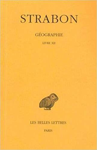 Lire Geographie Tome 9 Livre Xii En Ligne Gratuit Titre