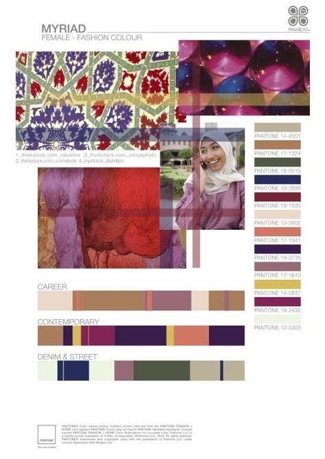Myriad- Female fashion color