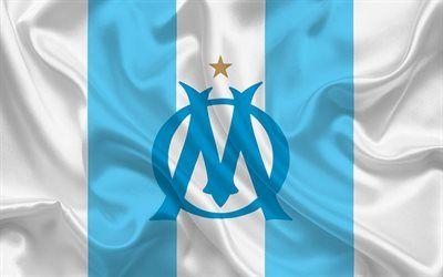 Telecharger Fonds D Ecran Olympique De Marseille Club De Football France Ligue 1 Le Football L Om Embleme L Om Logo Blanc Soie Besthqwallpapers Com Olympique De Marseille Marseille Olympique