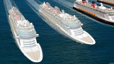 Bob Iger Announces Two New Disney Cruise Ships Launching in 2021 & 2023