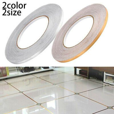 Floor Tile Sticker Waterproof Gap Sealing Removable Adhesive Tape Strip Decal Fashion Home In 2020 Self Adhesive Floor Tiles Adhesive Floor Tiles Wall Stickers Tiles