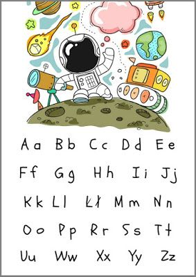 Alfabet Dla Dzieci Plakaty Do Druku W 4 Wersjach Plakat Dla
