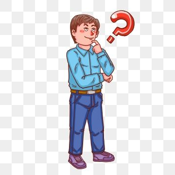 Hand Drawn Cartoon Boy Question Mark Free Illustration Boy Clipart Confused Thinking Problem Png Transparent Clipart Image And Psd File For Free Download Cartoon Boy Cartoon Question Mark Free Illustrations