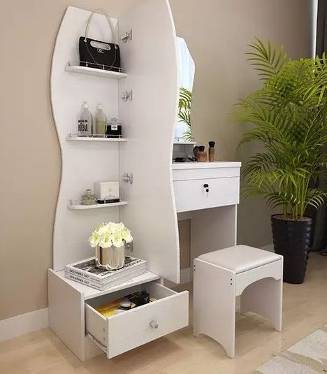 70 Wooden Dressing Table Designs For Modern Bedroom Furniture Sets 2019 Dressing Table Design Modern Dressing Table Designs Corner Dressing Table