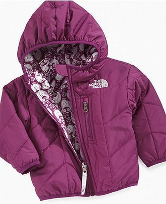 check out cea9f d42ad The Northface Baby Jacket, Baby Girls Reversible Perrito ...