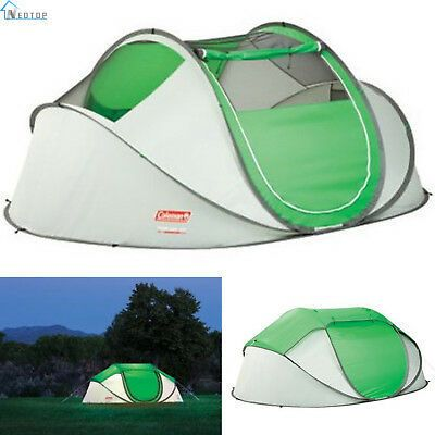 Coleman 4 Person Instant Pop Up Tent