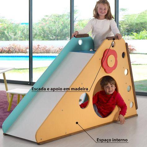 11 Ideas De Tobogán Para Niños Toboganes Juegos De Madera Muebles Para Niños