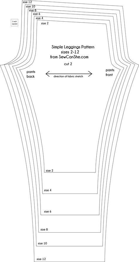 Resultado de imagen para leggings patrones