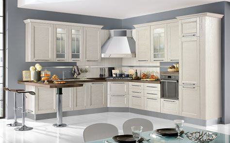Ginevra Cucina componibile 2E6Z 01 Cocinas, Muebles y