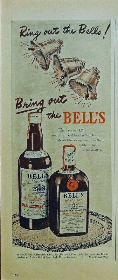 Ring For Whisky Bell