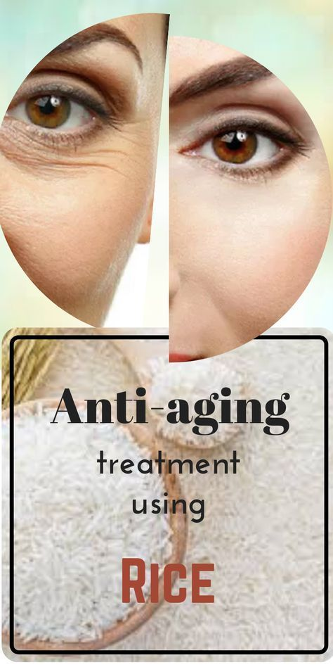 Diy Anti Aging Treatment Using Home Made Rice Flour Anti Aging