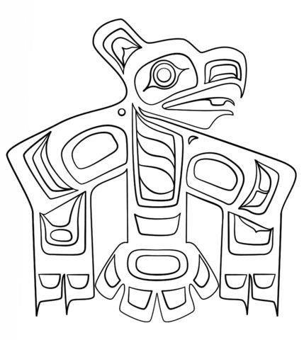 Aboriginal Art Coloring Pages Haida Art Canadian Aboriginal Art Aboriginal Art