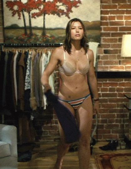 Free jessica biel nude clip chuck and larry apologise