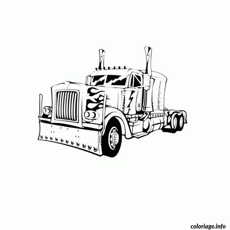 8 Idees De Coloriage Camion Coloriage Camion Coloriage Camion