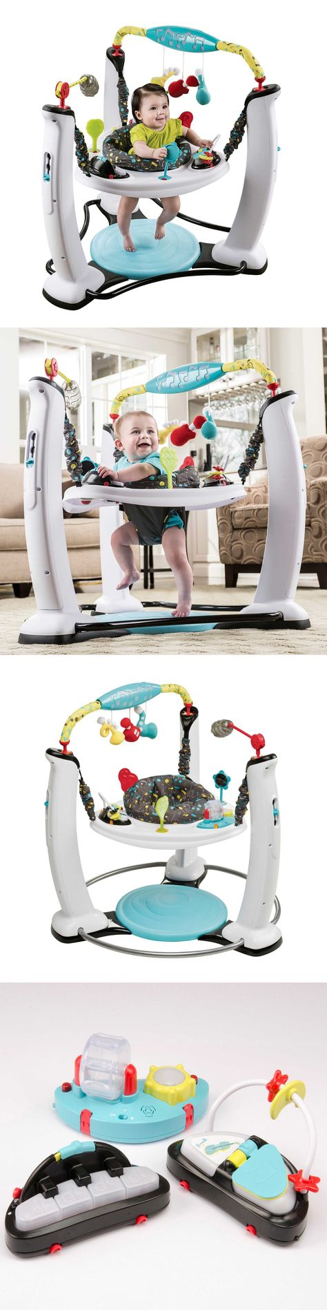 Evenflo ExerSaucer Jump and Learn Jumper Jam Session