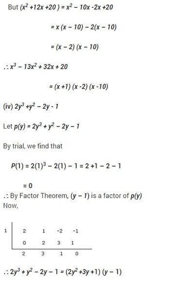 Ncert Solutions For Class 9 Maths Chapter 2 Polynomials Ex 2 4 Polynomials Math Solutions