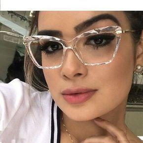 Detalhes Sobre Armacoes De Oculos Quadrado Da Moda Feminino