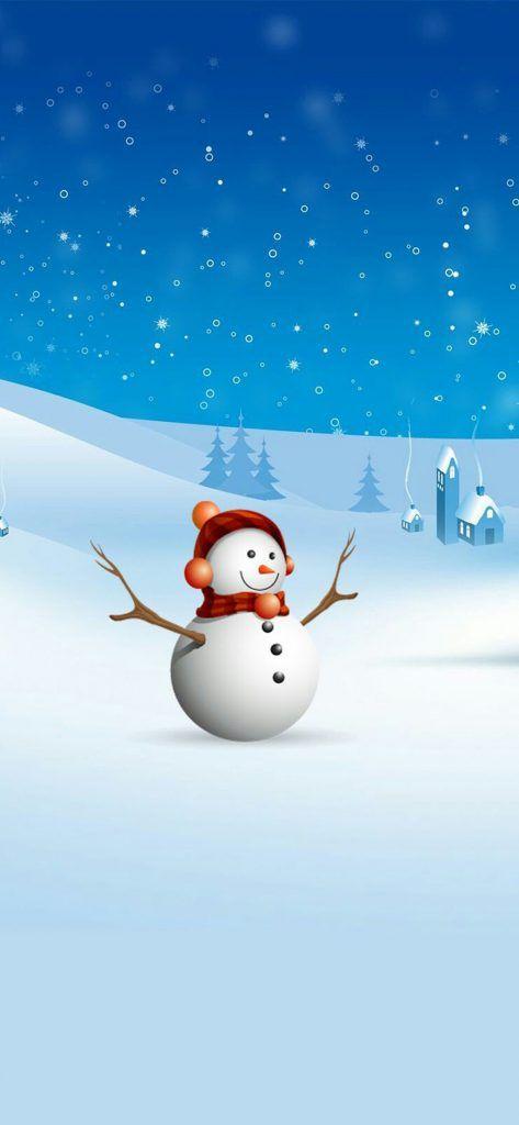 Iphone X Beautiful Wallpaper 1125 2436 Christmas Background Part 2 Christmas Backgrou Wallpaper Iphone Christmas Snowman Wallpaper Christmas Background Beautiful cute snowman wallpaper for