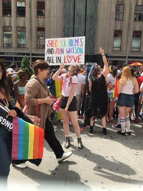 at NYC Pride 2017